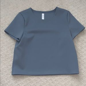 Cropped Fitted Tee
